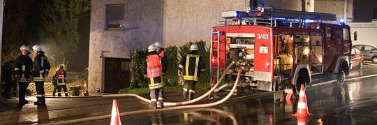Bild: Wohnhaus brannte in Dirmingen - Anwohner blieben unverletzt