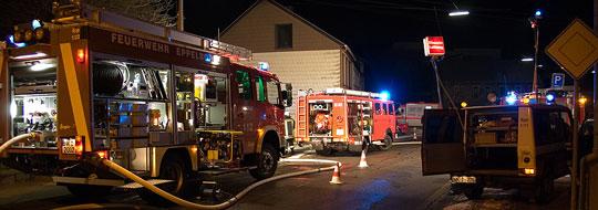 Bild: Erneut Wohnhausbrand in Eppelborn - Feuerwehr war diesmal in Humes im Einsatz
