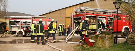 Bild: Gelungene landkreisübergreifende Zusammenarbeit auf dem Frankenbacher Hof