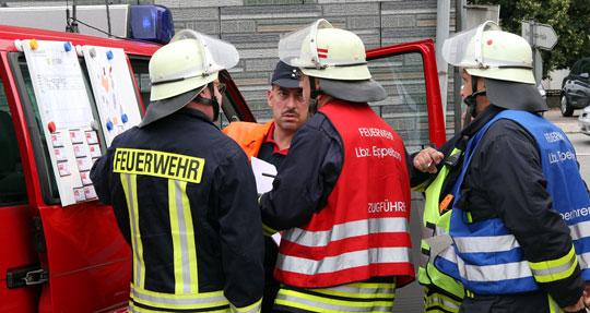 Bild: Gelungene Zusammenarbeit bei landkreisübergreifender Großübung in Thalexweiler