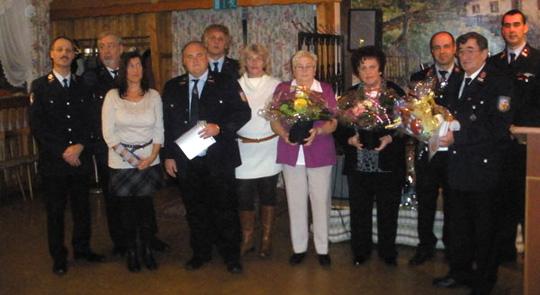Bild: Gemütlicher Familienabend im Löschbezirk Dirmingen