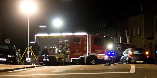 Bild: Schwerer Verkehrsunfall überschattet Fastnachts-Sonntag