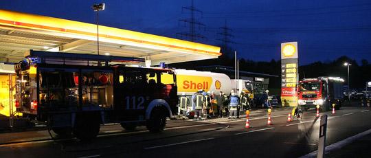Bild: Technischer Defekt: 150 Liter Diesel ausgelaufen