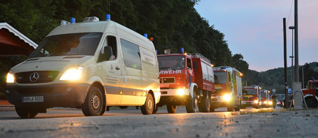 Bild: Kräfte aus Bubach-Calmesweiler im Hochwassereinsatz in Magdeburg [UPDATE]