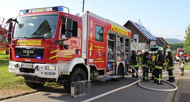 Bild: Kind entdeckt Brand und verhindert damit wohl Schlimmeres
