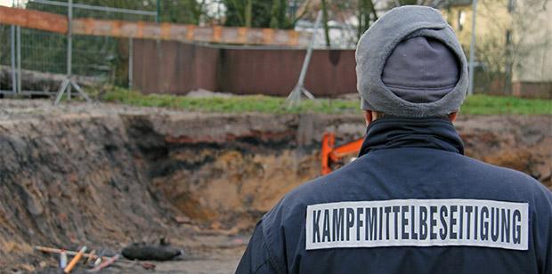Bild: Bombenfund in der Neunkircher Innenstadt