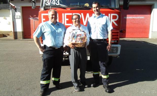 Bild: Feuerwehrarzt Hani Hweidi wurde 60 Jahre alt
