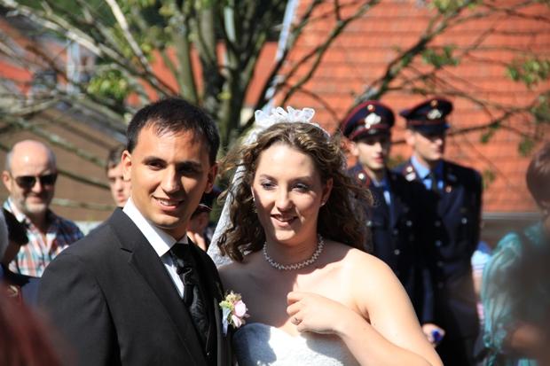 Bild: Hochzeit im Löschbezirk Humes