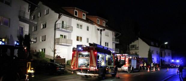 Bild:  Arbeiten mit Winkelschleifer lösen Feuerwehreinsatz  in Dirmingen aus