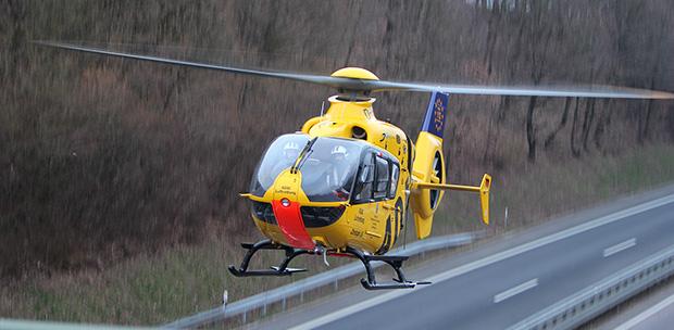 Bild: Totalschaden nach Verkehrsunfall auf der Autobahn