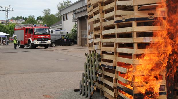 Bild: Feuerwehrfest im Löschbezirk Eppelborn