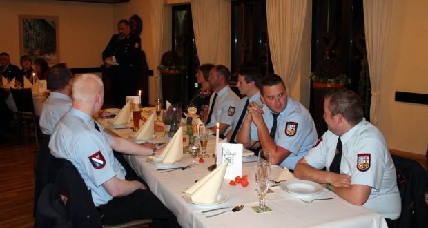 Bild: Familienabend im Löschbezirk Habach