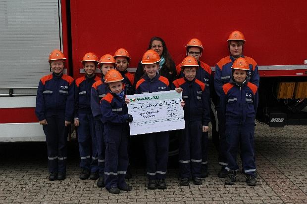 Bild: Wasgau Markt Eppelborn unterstützt die Jugendfeuerwehr