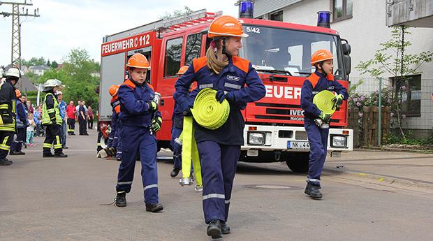 Bild: Informativer Tag der offenen Tür bei der Feuerwehr Eppelborn