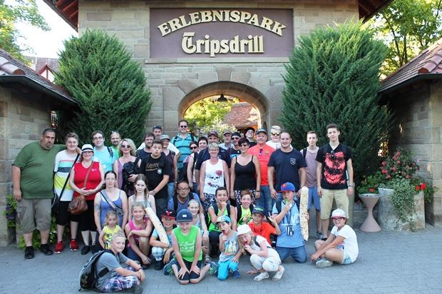 Bild: Jugendfeuerwehrfahrt in den Erlebnispark Tripsdrill
