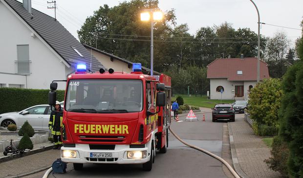 Bild: Alarmübung im Löschbezirk Habach