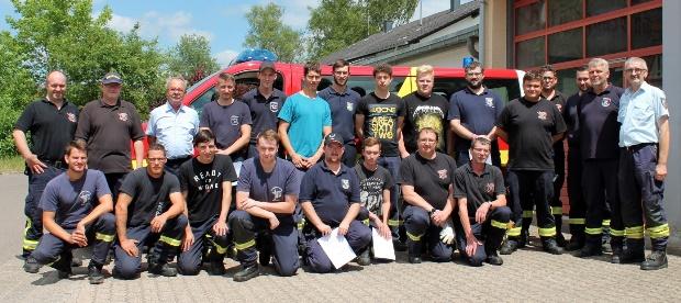 Bild: 22 neue Maschinisten für die Feuerwehr Eppelborn
