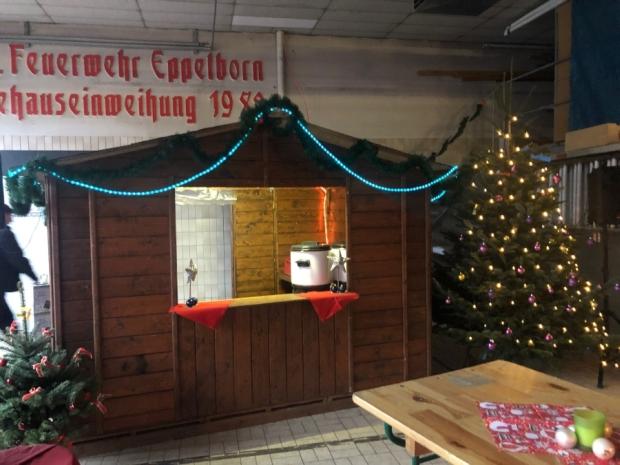Bild: Stimmungsvolle Weihnachtsfeier im Löschbezirk Eppelborn