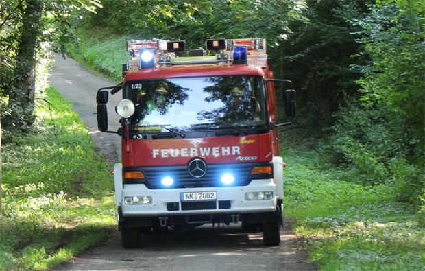 Bild: Waldbrandübung im Löschbezirk Eppelborn